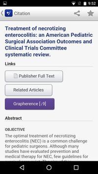 APSA Pediatric Surgery Library screenshot 4
