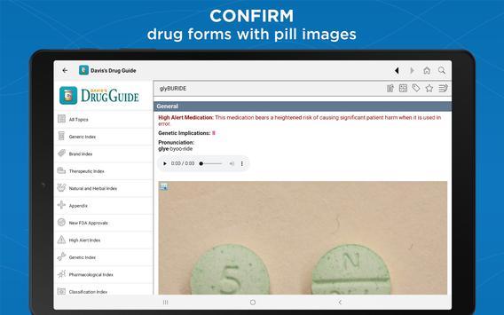 Davis's Drug Guide captura de pantalla 8