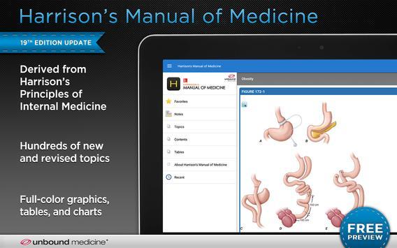 Harrison's Manual of Medicine screenshot 6