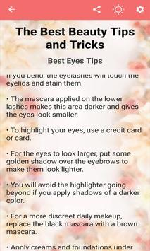 The Best Beauty Tips and Tricks screenshot 4