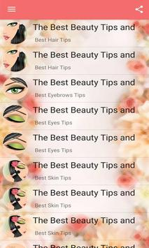 The Best Beauty Tips and Tricks screenshot 2