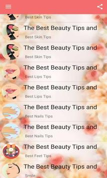 The Best Beauty Tips and Tricks screenshot 3