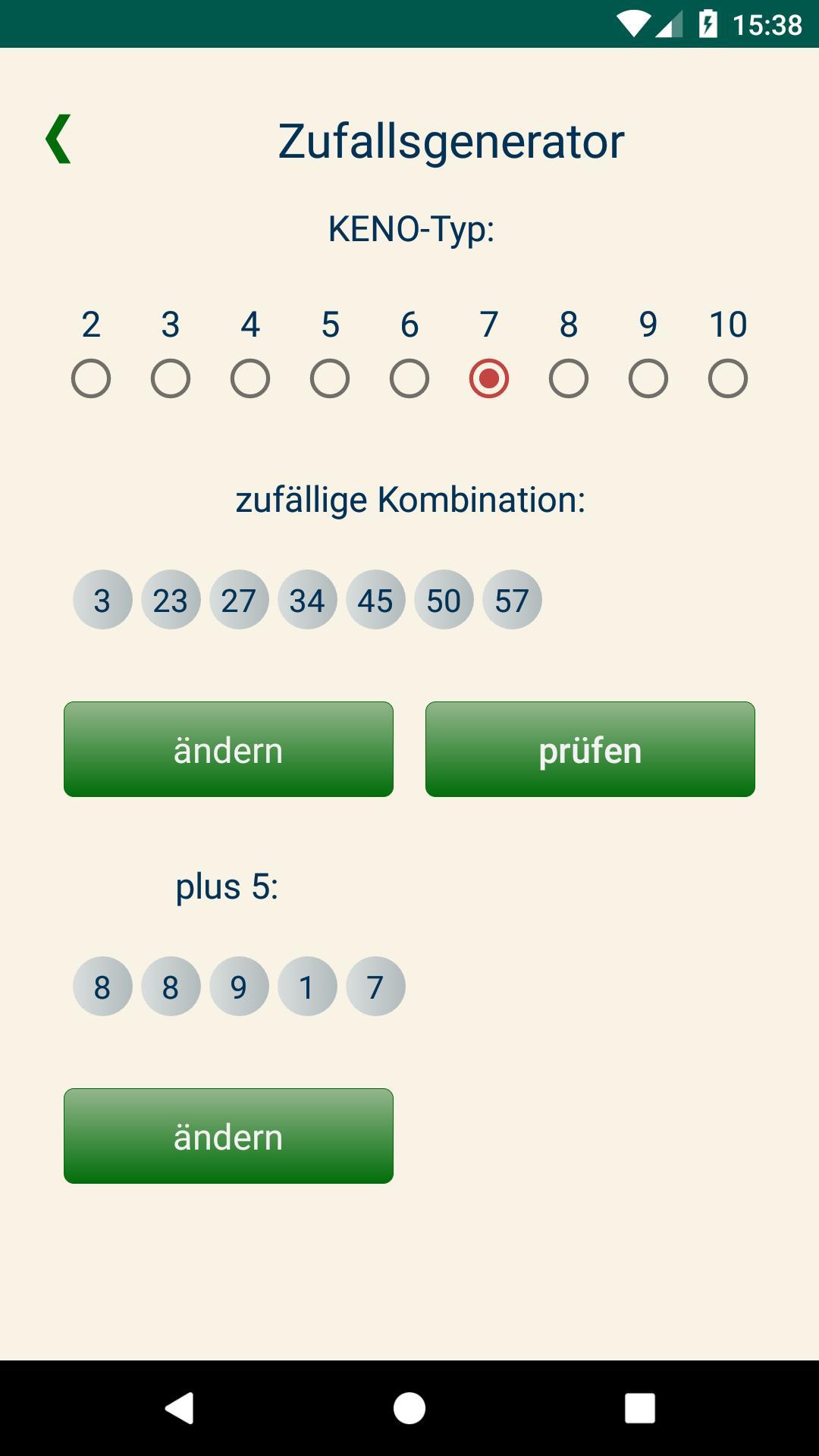 Keno Häufige Zahlenkombinationen
