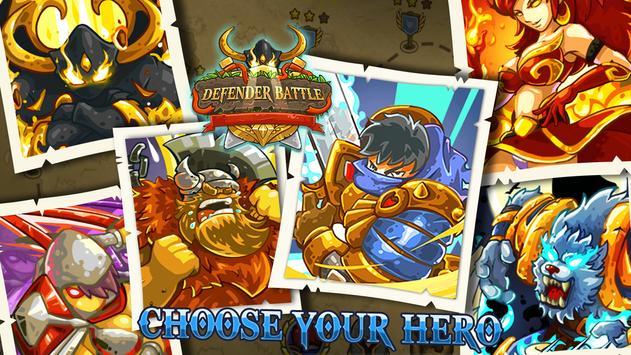 [Game Android] Defender Battle Hero Kingdom Wars