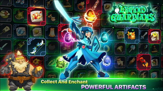 Legend Guardians: Epic Heroes Fighting Action RPG poster
