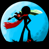 Stickman Ghost: Ninja Warrior Action Offline Game 아이콘