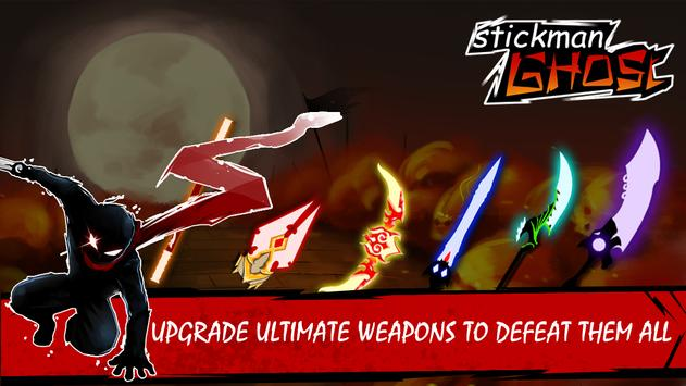 Stickman Ghost: Ninja Warrior Action Offline Game 스크린샷 1
