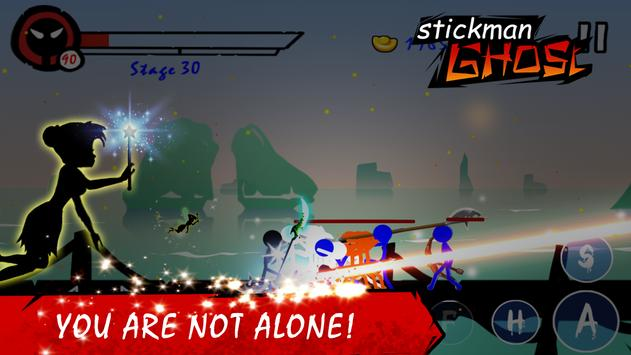 Stickman Ghost: Ninja Warrior Action Offline Game 스크린샷 2