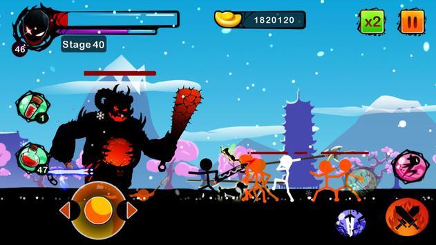 Stickman Ghost: Ninja Warrior Action Offline Game تصوير الشاشة 17