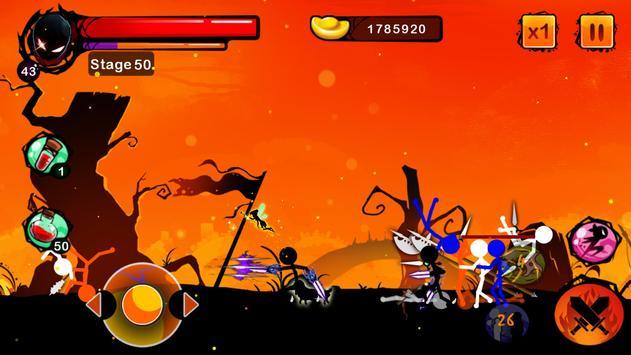 Stickman Ghost: Ninja Warrior Action Offline Game تصوير الشاشة 3