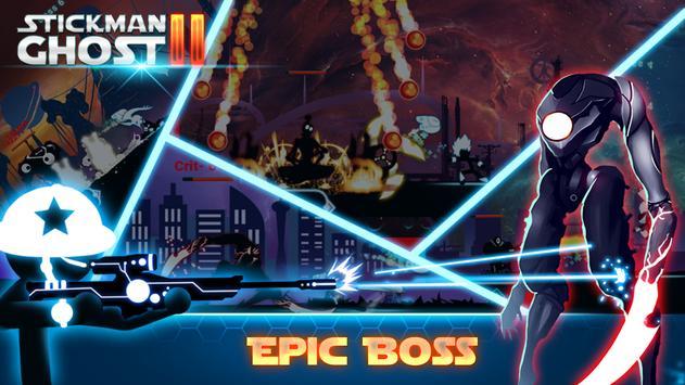 Stickman Ghost 2: Gun Sword - Shadow Action RPG screenshot 1