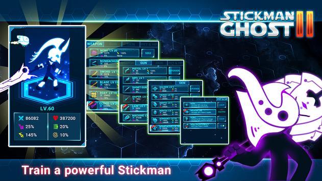 Stickman Ghost 2: Gun Sword - Shadow Action RPG скриншот 2
