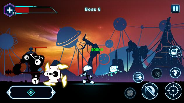 Stickman Ghost 2: Gun Sword - Shadow Action RPG screenshot 3