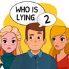 Who is? 2 Tricky Chats and Brain Puzzles icon