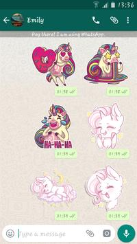 Unicorn Stickers Packs For Whatsapp - WASticker screenshot 1