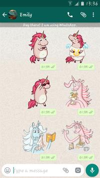 Unicorn Stickers Packs For Whatsapp - WASticker screenshot 2