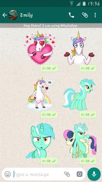 Unicorn Stickers Packs For Whatsapp - WASticker screenshot 3