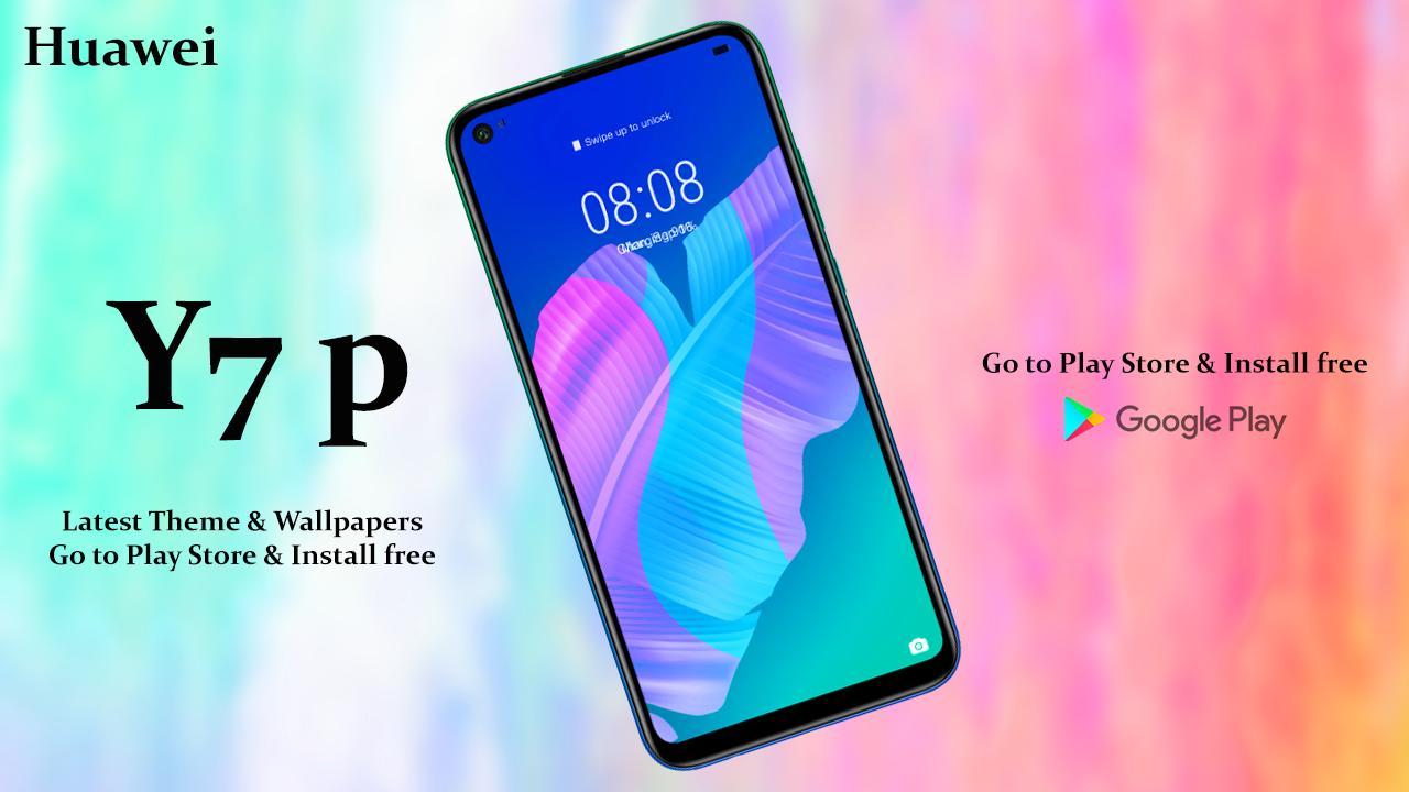 Huawei y7 p   Theme for Huawei y7 p & launcher pour Android - Téléchargez l' APK