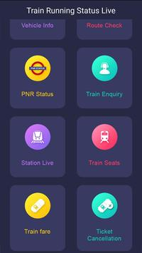 Indian Railway PNR & IRCTC - Train Live Status screenshot 1