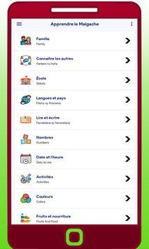 Apprendre Le Malgache screenshot 1