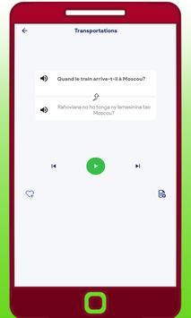 Apprendre Le Malgache screenshot 3