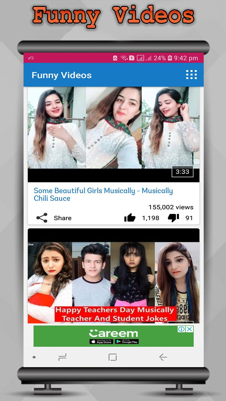 Cute Girls Funny Videos For Tik Tok 2019 For Android Apk
