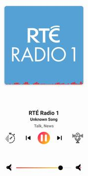 radio Ireland - Irish radio FM: rte player App imagem de tela 2