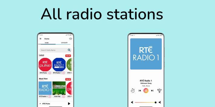 radio Ireland - Irish radio FM: rte player App screenshot 5