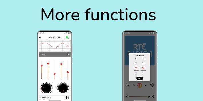 radio Ireland - Irish radio FM: rte player App screenshot 6