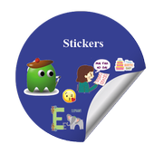 All in one Sticker for WA icon