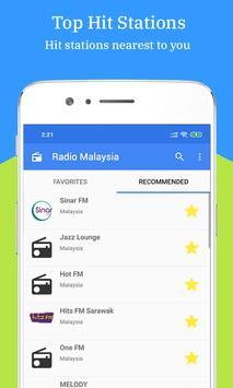 Radio FM AM Malaysia screenshot 1