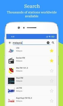 Radio FM AM Malaysia screenshot 2