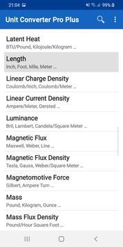 Unit Converter Pro Plus スクリーンショット 8