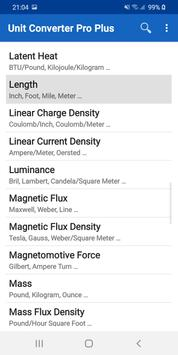 Unit Converter Pro Plus screenshot 16