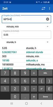 Einheitenumrechner - UCPro Screenshot 1