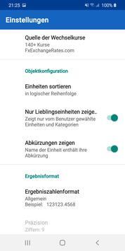 Einheitenumrechner - UCPro Screenshot 21