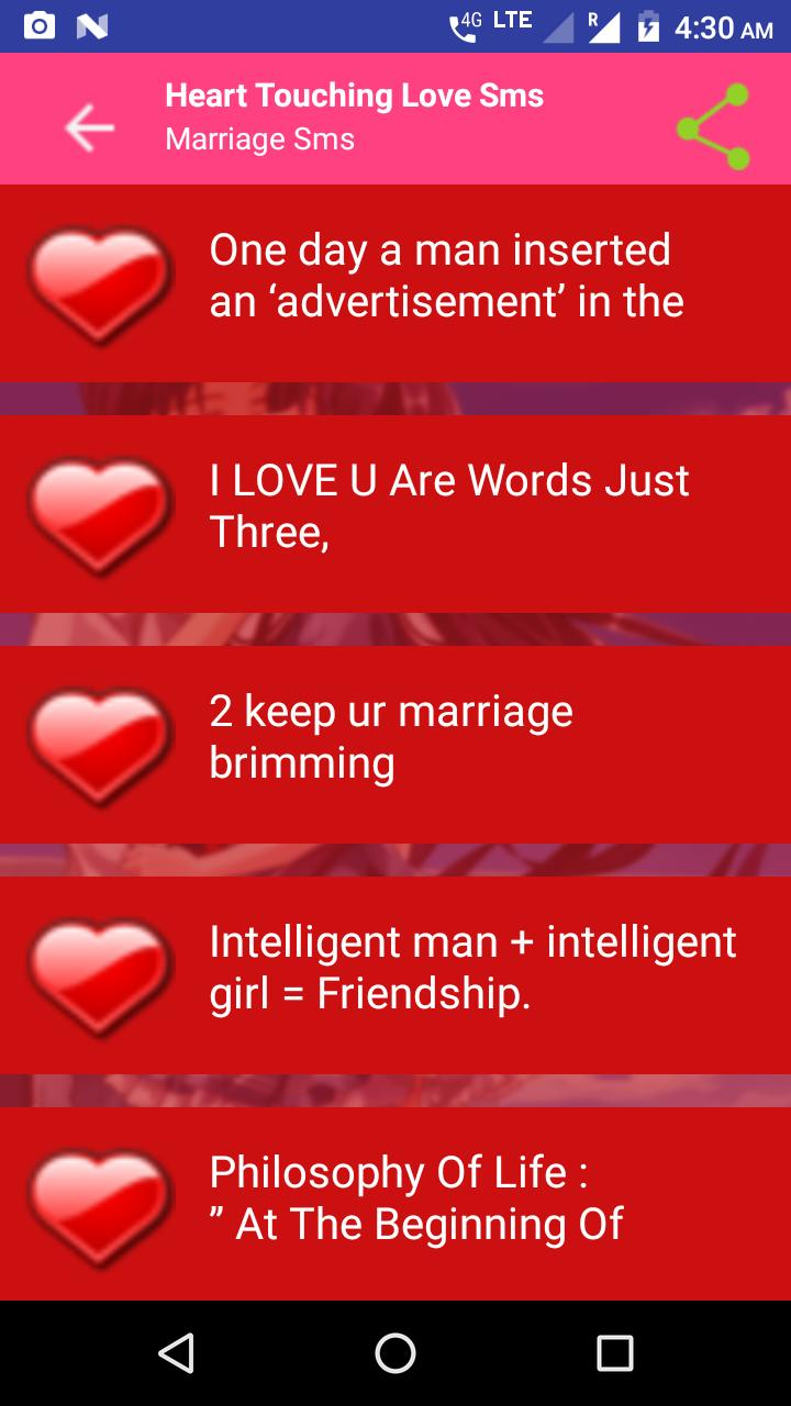 Heart Touching Love SMS 2019 for Android - APK Download