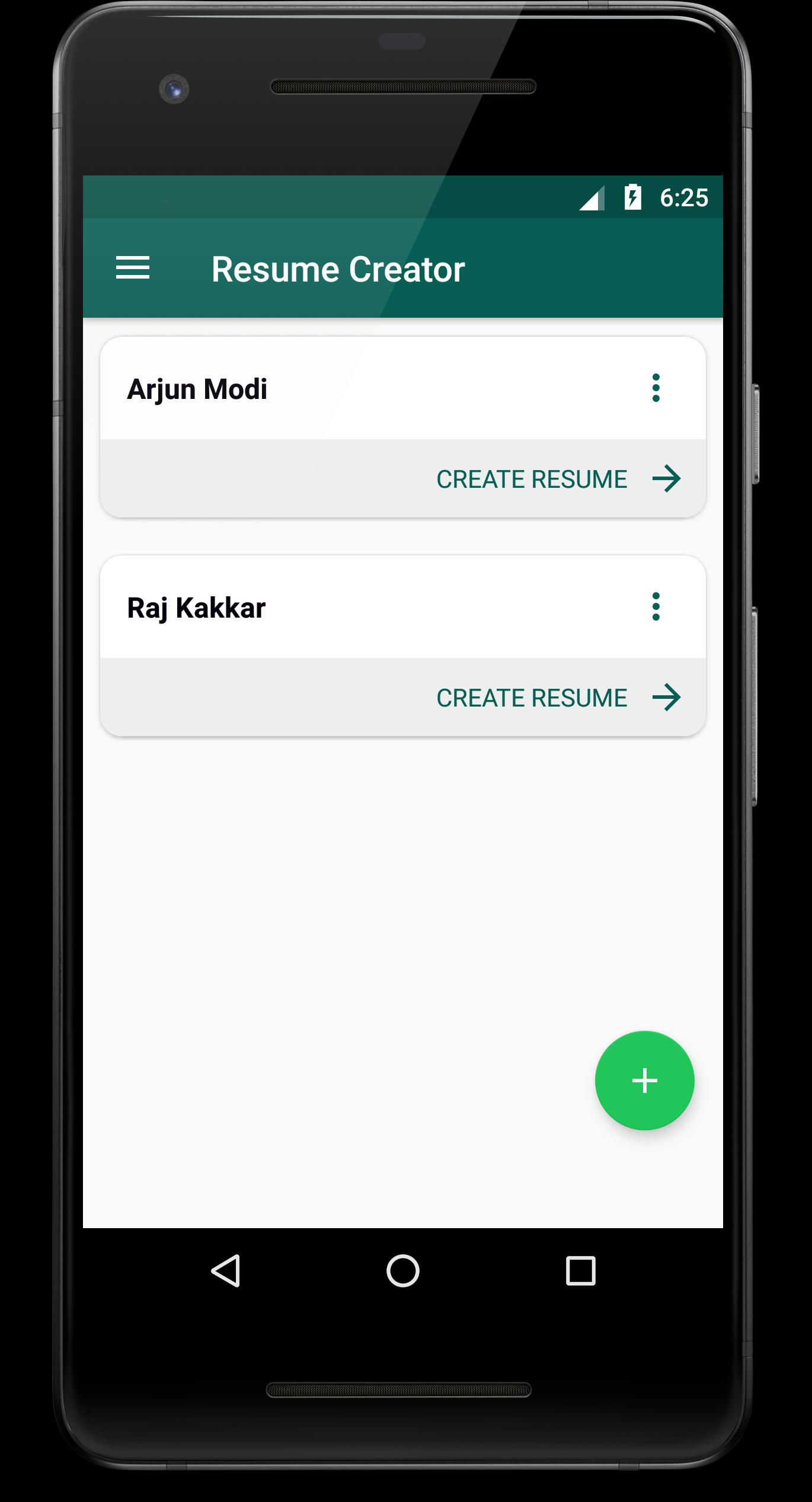 Resume Creator for Android - APK Download