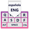 Android的西班牙語鍵盤應用程序: 西班牙語teclado 圖標