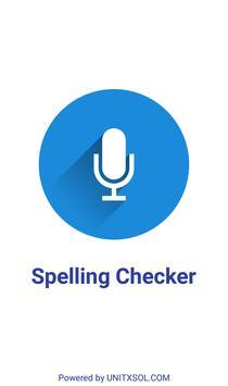 Spelling Checker - Voice Base Spell Checker poster