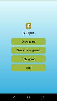 GK Quiz ポスター