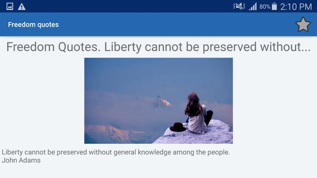 Freedom Quotes And Aphorisms screenshot 9