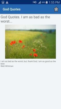 God Quotes And Aphorisms screenshot 4