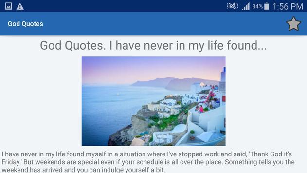God Quotes And Aphorisms screenshot 8