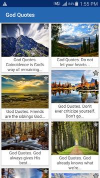 God Quotes And Aphorisms poster