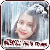 Waterfall Photo Frames & DP Maker icon