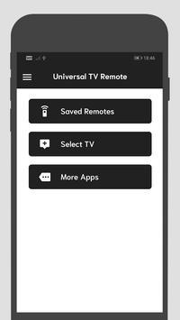 Universal TV Remote screenshot 1