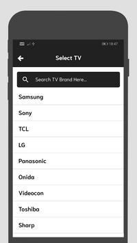 Universal TV Remote screenshot 2