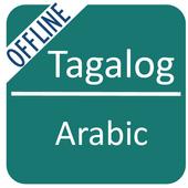 Tagalog To Arabic Dictionary icon
