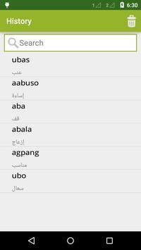 Tagalog To Arabic Dictionary screenshot 3